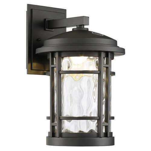 Altair 9  LED Parojo Exterior Farol, Bruñido Acabado en Bronce, Nuevo o   B