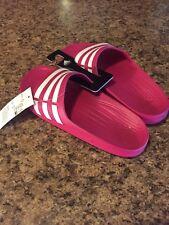 4b45612134a43c Cute Girls Adidas Duramo K Pink Slides!!  24.99. Free shipping. Youth Adidas  Originals Duramo Slide Sandal Pink White Size 5 Girl s