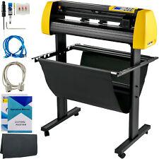 34 Vinyl Cutterplotter Sign Cutting Machine Withsoftware 3 Blades Lcd Screen