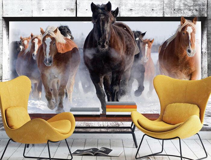3D Herden Natürlich 7988 Tapete Wandgemälde Tapeten Bild Familie DE Jenny