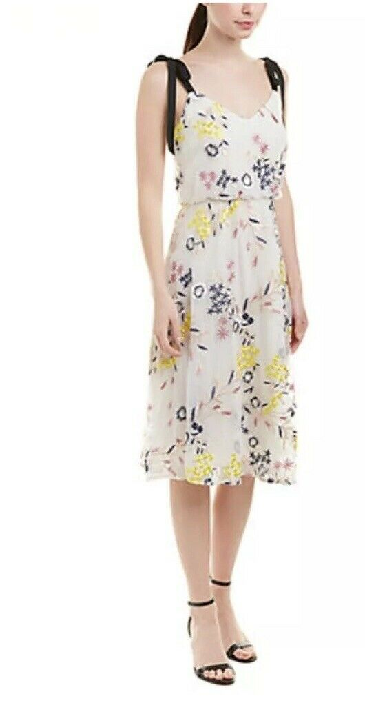 NWT DM Collection damen Morgan Floral Embroiderot Summer Dress D5845W YENM - 16W