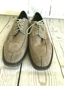 Robert Wayne TF Giona RWF1287M Mens Gray Suede Casual Lace Up Oxfords Shoes