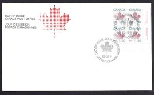 Canada-923-LRpb-MAPLE-LEAF-Brand-New-1982-Unaddressed-Cover