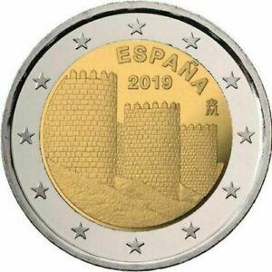 EspaÑa 2019 2€ Murallas Avila X2ue5rdd-07235937-421767535