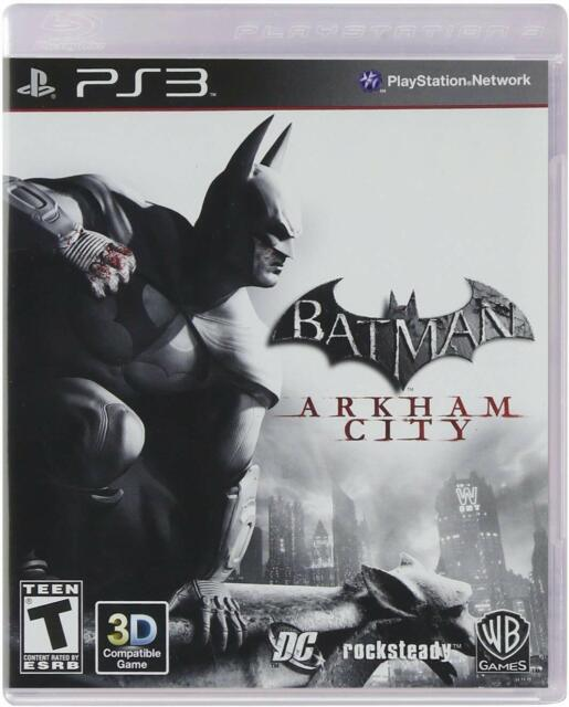 Batman: Arkham City (PlayStation 3) Complete Free Shipping In Canada