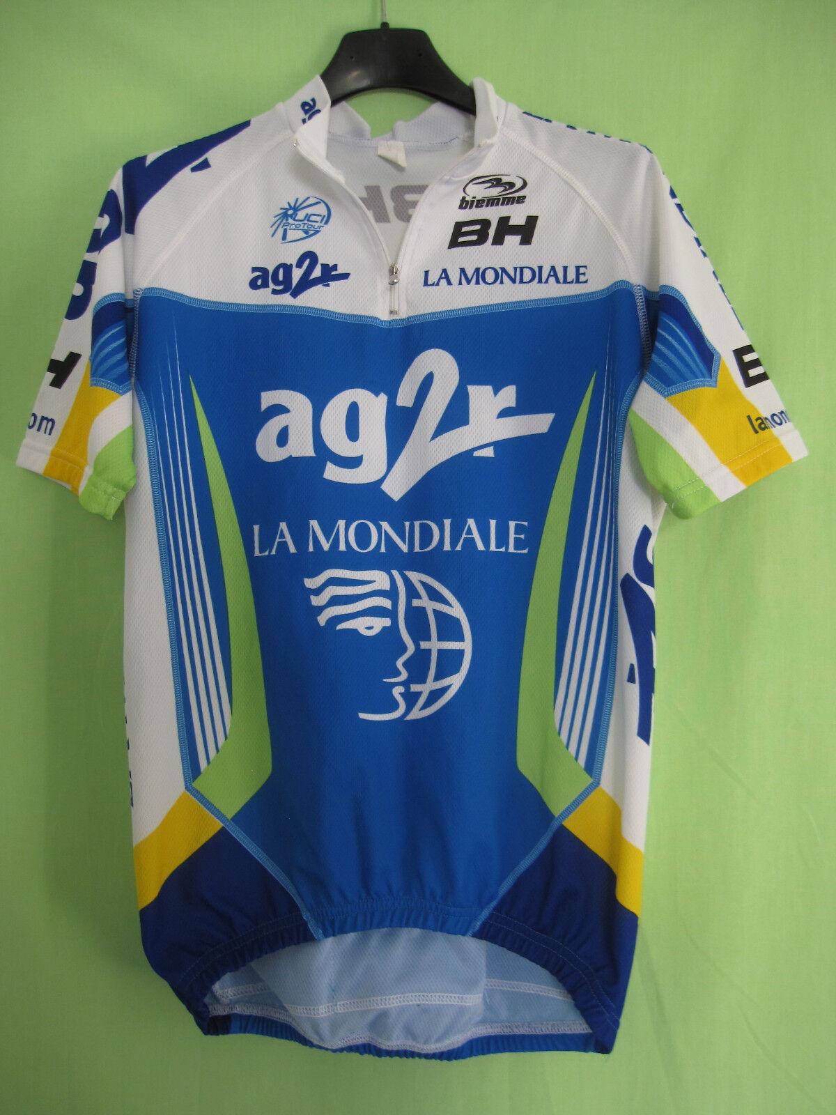 Maillot cycliste Ag2R La Mondiale BH Biemme tour de France 2008 Jersey - L