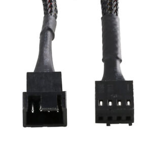 4 Pin PWM CPU Fan Computer PC Extension Cable Extended Lead Connector