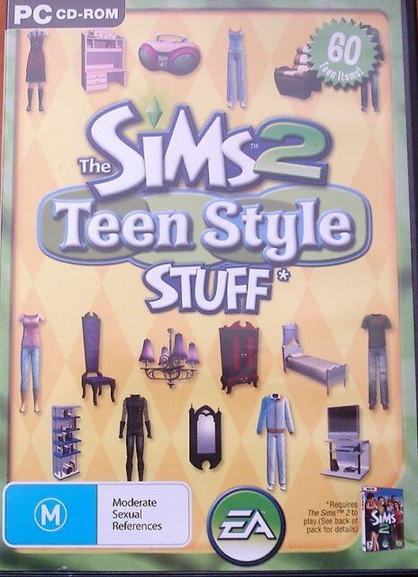 The Sims 2  Teen Style Stuff (PC: Windows, 2008)