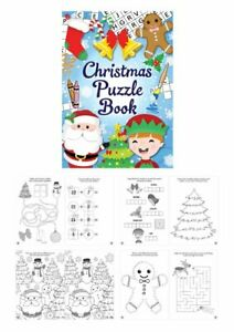 Christmas-Puzzle-Book-Activity-Book-Kids-Party-Bag-Filler-Toy-Stocking-Fillers