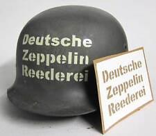 WW2 German DZR Zeppelin Factory Helmet Stencil Template WWII not Decal