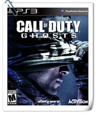 PS3 CALL OF DUTY GHOSTS COD SONY PLAYSTATION Activision Shooting Games