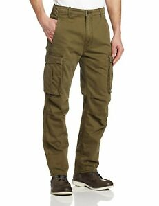 NEW-MENS-LEVIS-RELAXED-FIT-ACE-CARGO-PANTS-IVY-GREEN-124620004