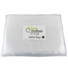 100 GALLON 11x16 Food Storage Vacuum Sealer Bags! Food Saver!