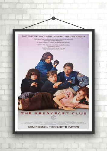 The Breakfast Club Vintage Classic Large Movie Poster Print A0 A1 A2 A3 A4 Maxi