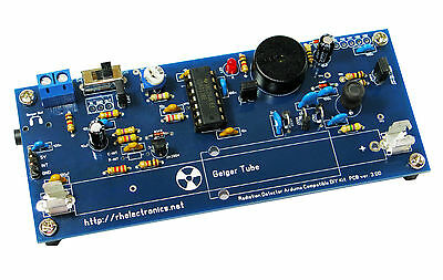 DIY Geiger Counter Kit Nuclear Radiation Detector for Arduino / fits iPhone