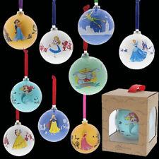 NEW 2019 Range of Disney Christmas Baubles - Enesco Disney Enchanting Collection