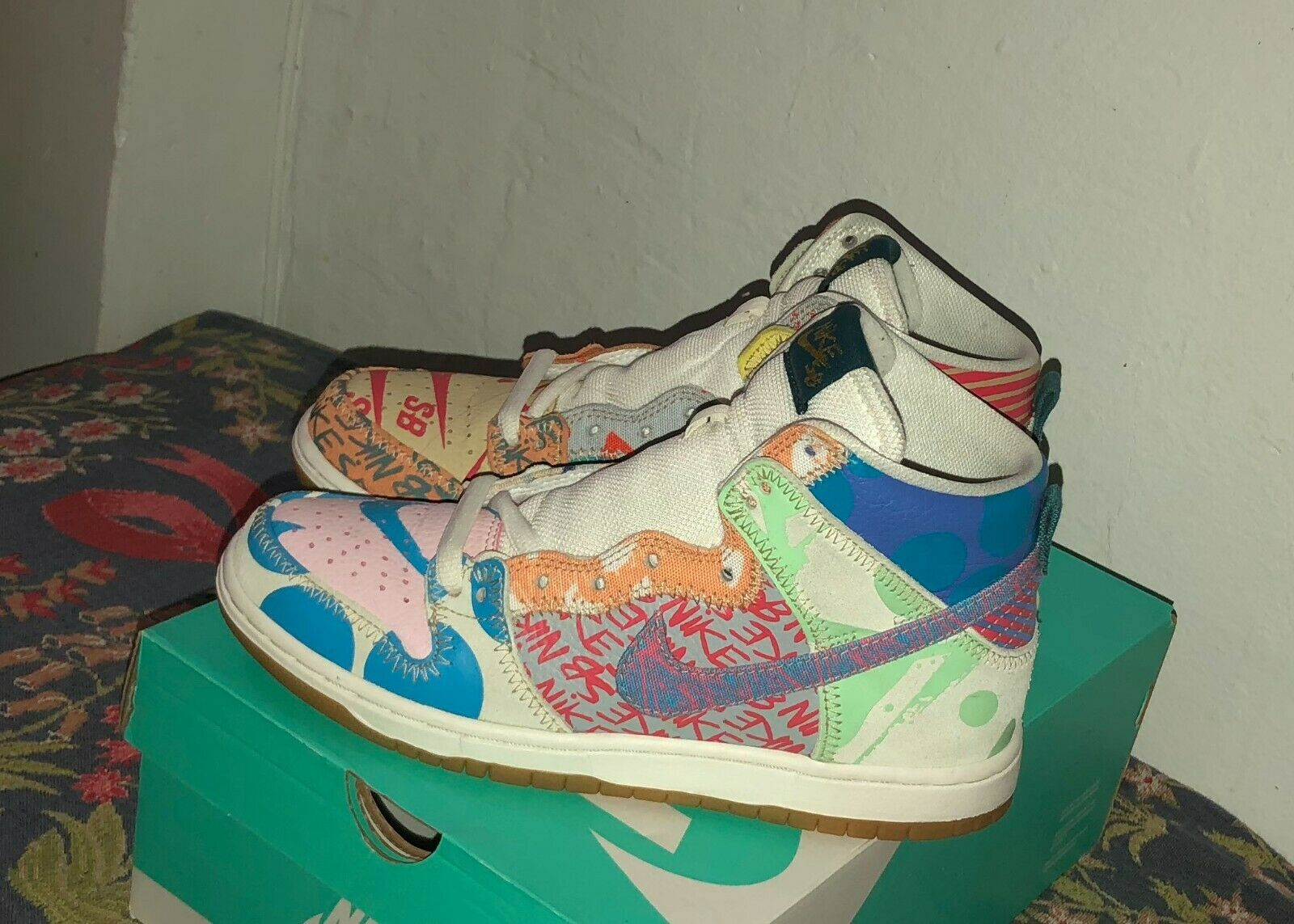 Nike SB Dunk High Premium Thomas Campbell What The Size 8