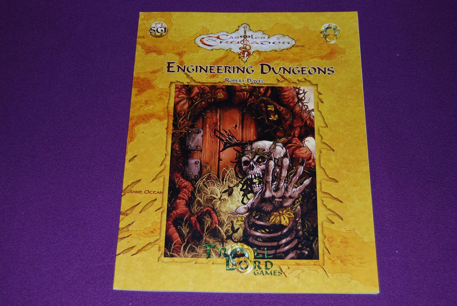 CASTLES & CRUSADES RPG JDR Jeu de Role - - - SG1   Engineering Dungeons 07f4f8