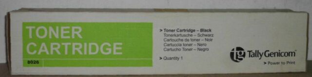 Tally Genicom 8026 Toner black schwarz  043769 für T8026 DN DTN  OVP B