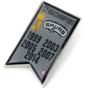 SAN-ANTONIO-SPURS-CHAMPIONS-LAPEL-HAT-PIN-BRAND-NEW-NBA-PN-1064-20