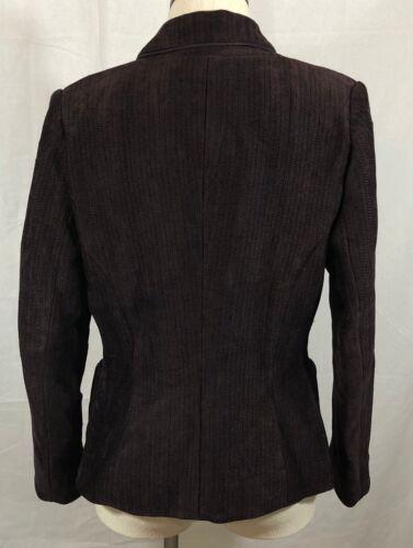Herringbone Burgundy 6 Size Euc Worth Jacket Blazer fx7aw8qX