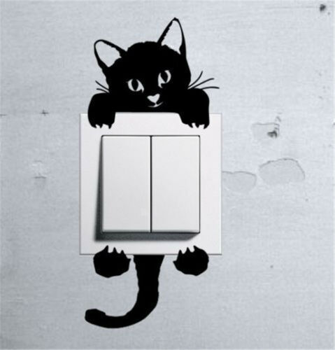 Cartoon Animals Kids Childrens Room Window Wall Stickers Bedroom Art Decal Mural