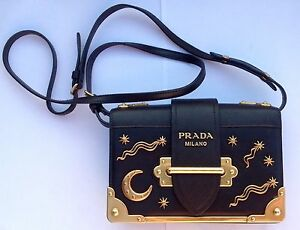 29ff6926dcae 1234 780e2 a7f2c  switzerland image is loading authentic prada small  lambskin astrology cahier bag purse 8a1cd f0078
