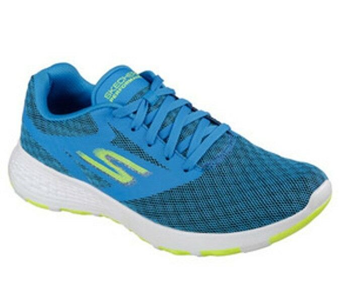 Skechers Men's Performance Go Walk Cool Blue/Lime 54651/BLLM The latest discount shoes for men and women
