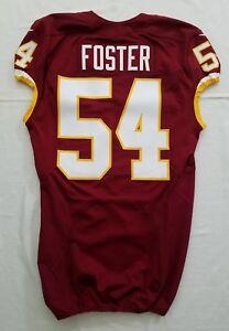 detailed pictures 651ae 73798 54 Mason Foster of Washington Redskins NFL Locker Room Game ...