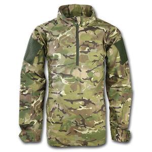 Kids Childrens British Army Pcs Style Ubacs Shirt Btp Camo Mtp
