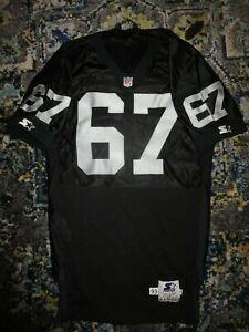 Dan-Turk-67-Los-Angeles-Raiders-NFL-Team-Game-Used-Worn-Jersey-50