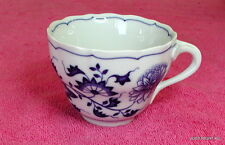 """Hutschenreuther (Blue Onion Scalloped) 2 5/8"""" x 3 1/2"""" CUP(s) Exc (8 avail)"""