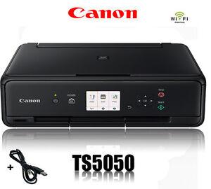 CANON TS5050 MULTIFUNKTIONS DRUCKER SCANNER KOPIERER WLAN WIFI * NEU *