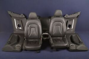 Audi-A5-8T-2-0-TFSI-2009-Rhd-Interno-Pelle-Sedili-Porta-Carte-Consolle-Centrale