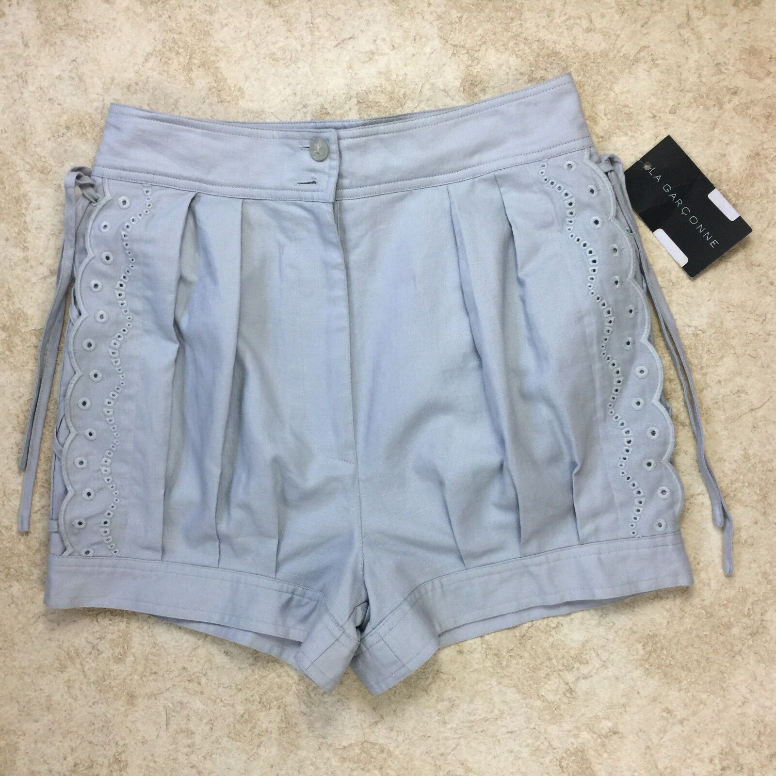 SEE BY CHLOE Women's Old bluee Shorts Size 4 NWT