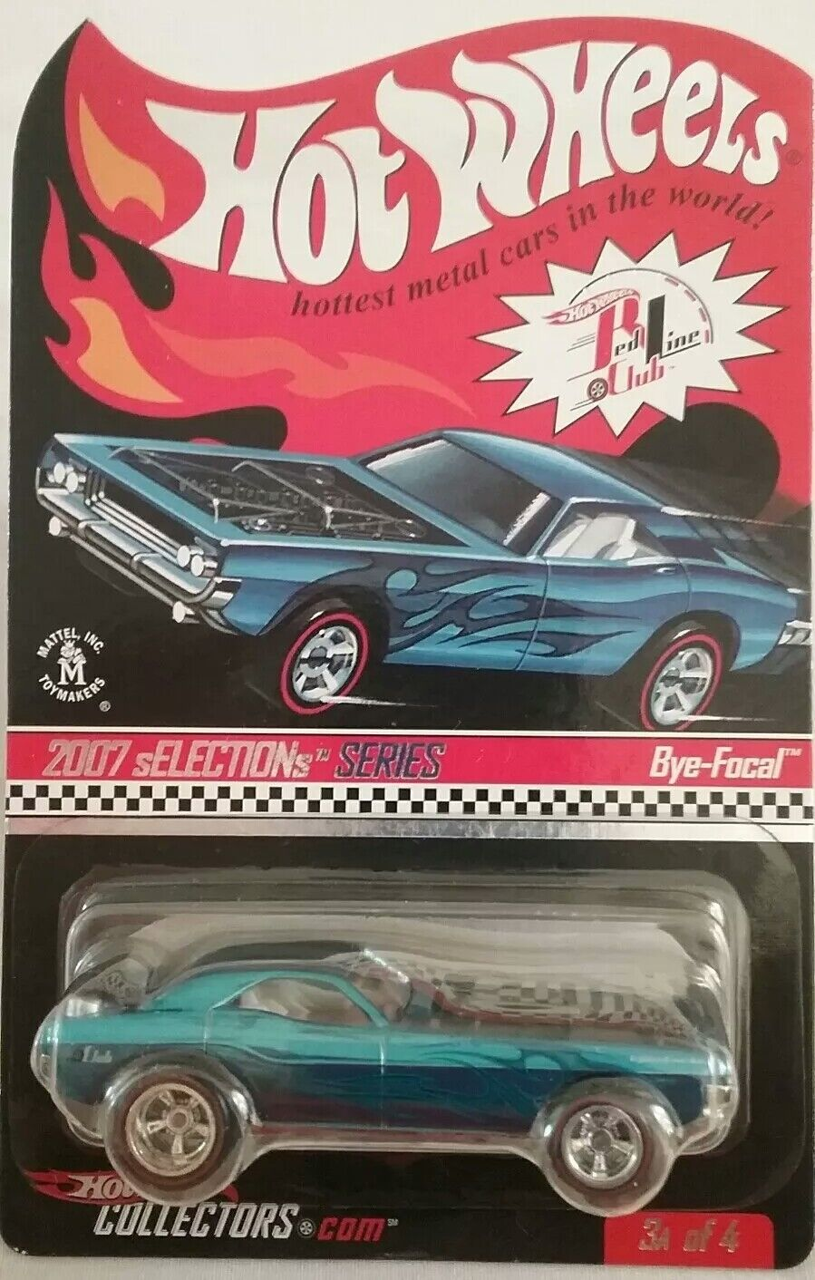 Hot Wheels RLC 2007 sELECTIONs Series BYE-FOCAL Redline Real Riders Limited 7716