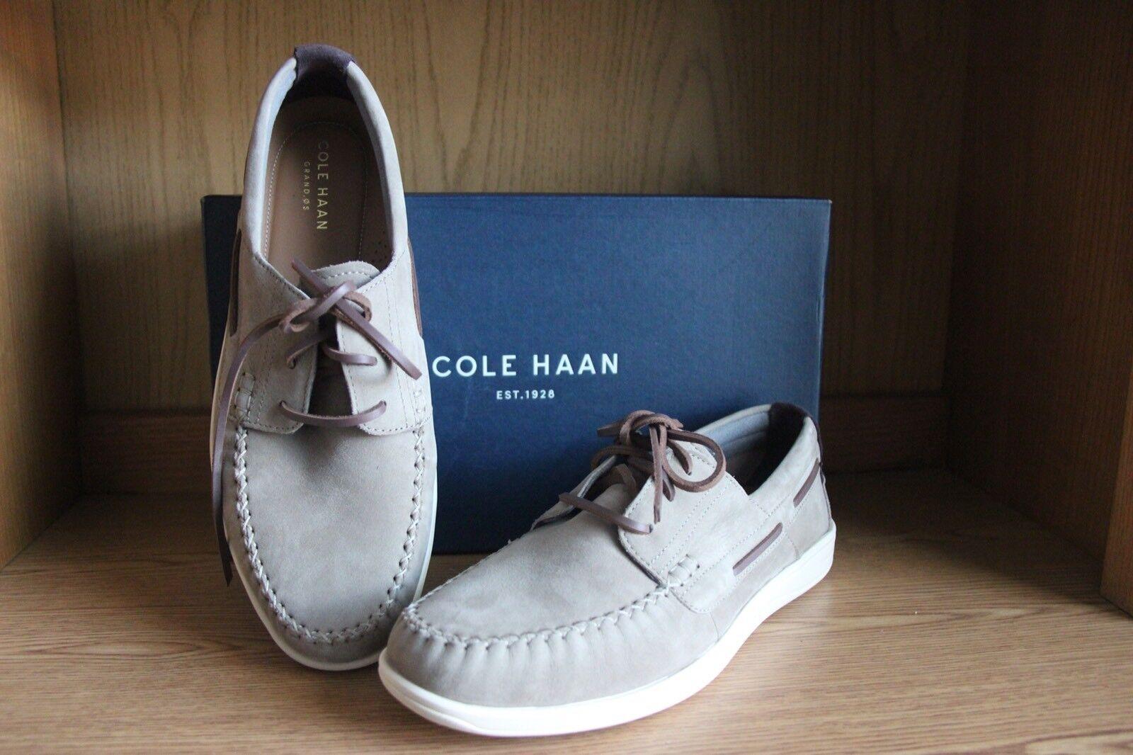 Cole Haan avviohbay Boat scarpe Sea Otter Tan Men Dimensione 10  C24688