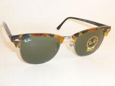 1a28ad0af Ray-Ban Rb3016 1157 Spotted Black Havana Frame Grey Green Lens Sunglasses 51