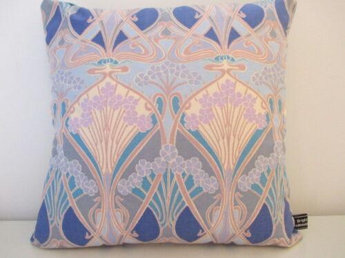 Liberty vintage rare 50 S Floral Jardin Lin /& Velours Bleu Tissu Housse De Coussin