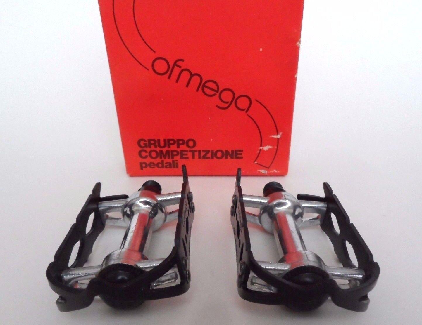 NOS Vintage 1980s OFMEGA Competizione (super record era italiano de carretera pedales)