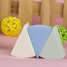 8pcs Triangle Shaped Candy Color Soft Magic Face Cleaning Pad Puff Cosmetic Hot