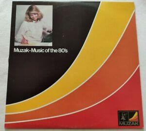 MUZAK-MUSIC-OF-THE-80-039-S-LP-VARIOUS-33-GIRI-VINYL-USA-1982-MUZAK-AA1-82-NM-NM