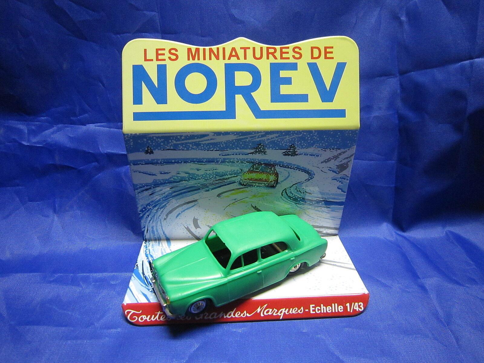 DV6239 NOREV PEUGEOT 403 BERLINE PLASTIQUE VERT MAT Ref 15 1 43 TBE