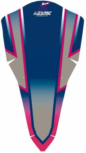 Kosmic 2015 Style Nassau Autocollant Kit to fit M4-Karting-jakedesigns