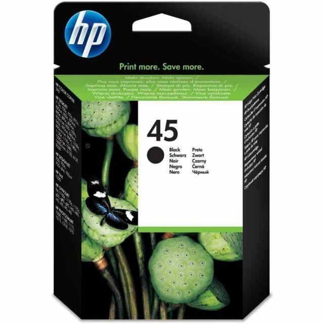 GENUINE & BOXED HP45 BLACK / 51645AE INK CARTRIDGE - SWIFTLY POSTED