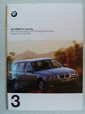 Prospekt BMW 3er E 36 touring 316i - 325tds, 1.1997, 28 Seiten