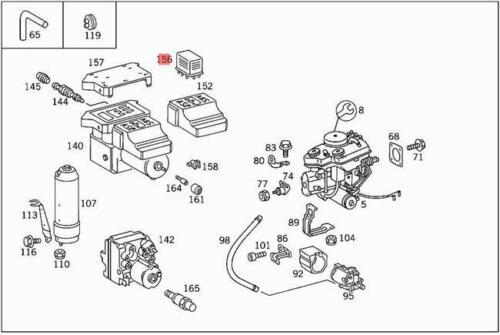 Genuine Relay MERCEDES 190 A124 C124 C126 C140 R129 S124 W124 W126 0015427019