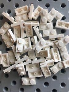 Lego New Bulk lot of 50 1x2 White Bricks Blocks 1 x 2