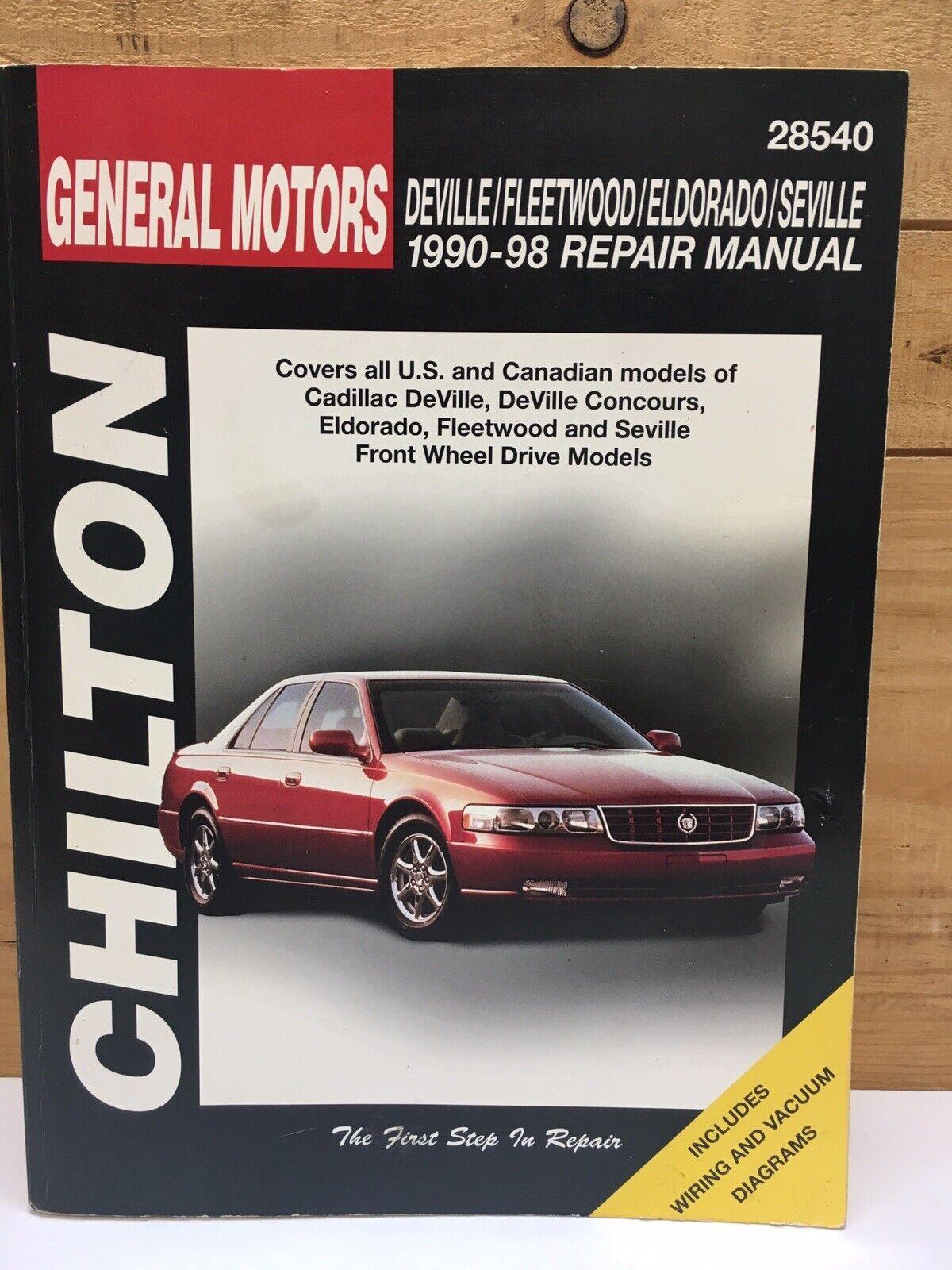 ispacegoa.com Automotive Car & Truck Manuals 1996 CADILLAC ...