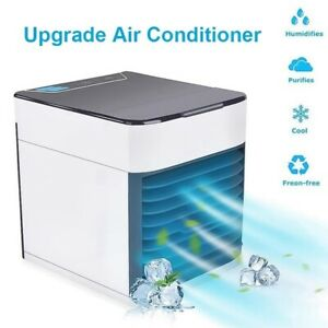 Details about Upgrade Space Portable Mini Air Conditioner Cooling Air Fan Humidifier Puri df*